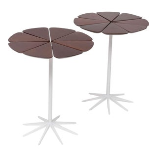 Pair of Richard Schultz Petal Side Tables For Sale