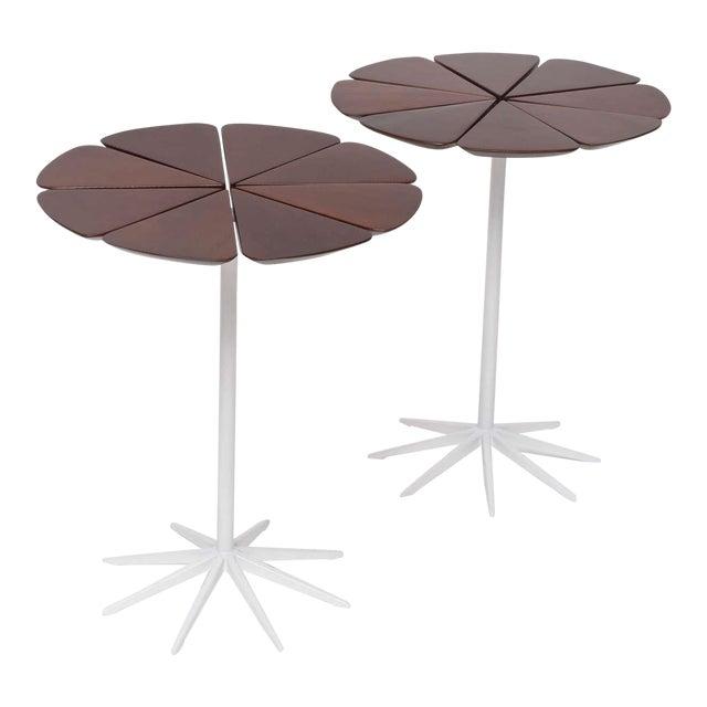 Pair of Richard Schultz Petal Side Tables For Sale