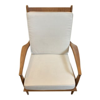 Vintage Mid-Century Milo Baughman Archie Chair For Sale