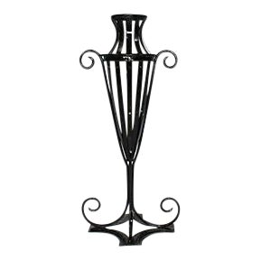Wrought Iron Garden Urn - Image 1 of 7