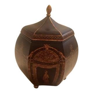 Chinoiserie Decorative Accessory Box For Sale