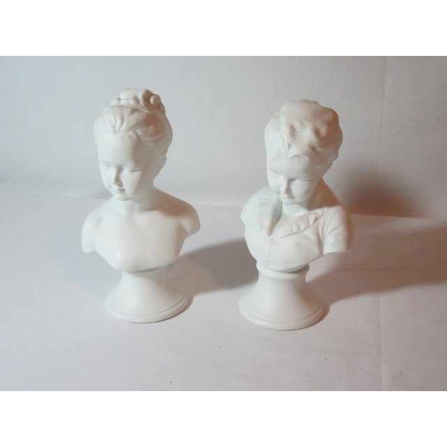 Boy and Girl Busts - Pair - Image 3 of 8