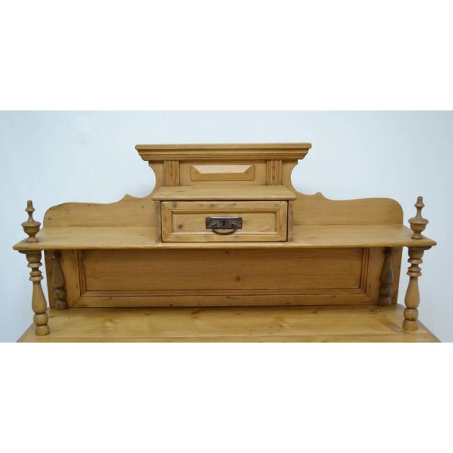 Late 19th Century Pine Chiffonier For Sale - Image 4 of 9