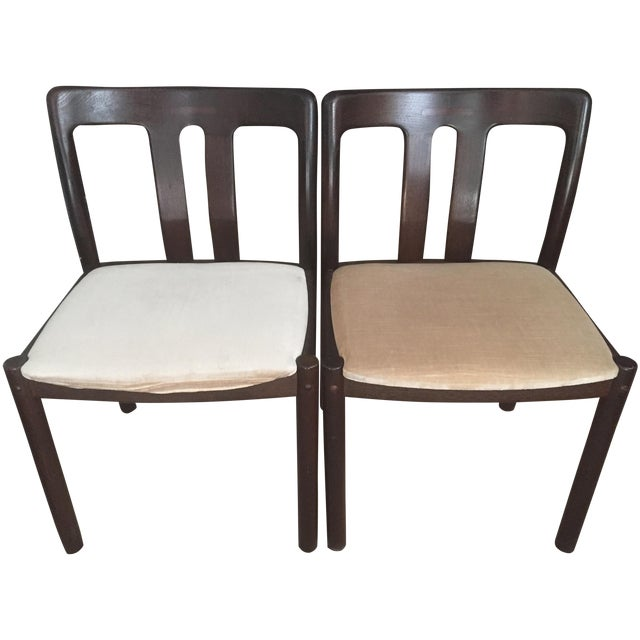 2 Mid-Century Danish Chairs -Mobelfabrik - Image 1 of 8