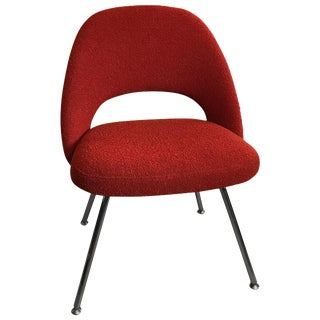 Vintage Mid Century Eero Saarinen Executive Side Chair For Sale