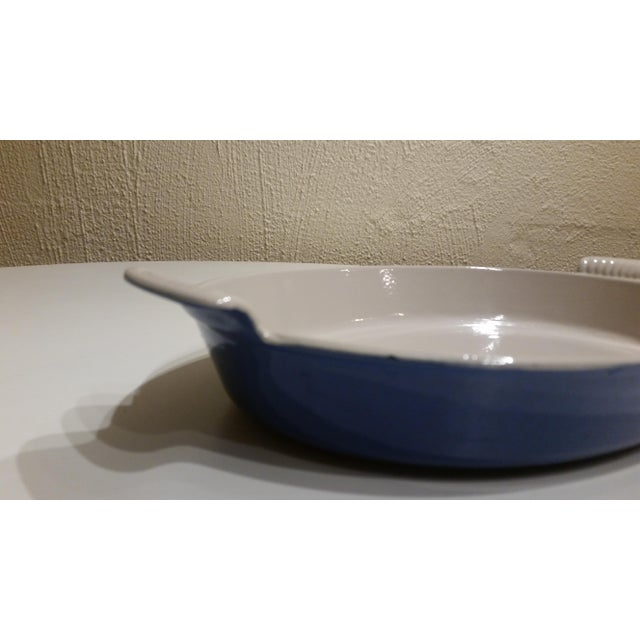 Vintage Le Creuset #36 Cast-Iron Oval Bake Ware/Gratin Casserole Dish For Sale - Image 4 of 5