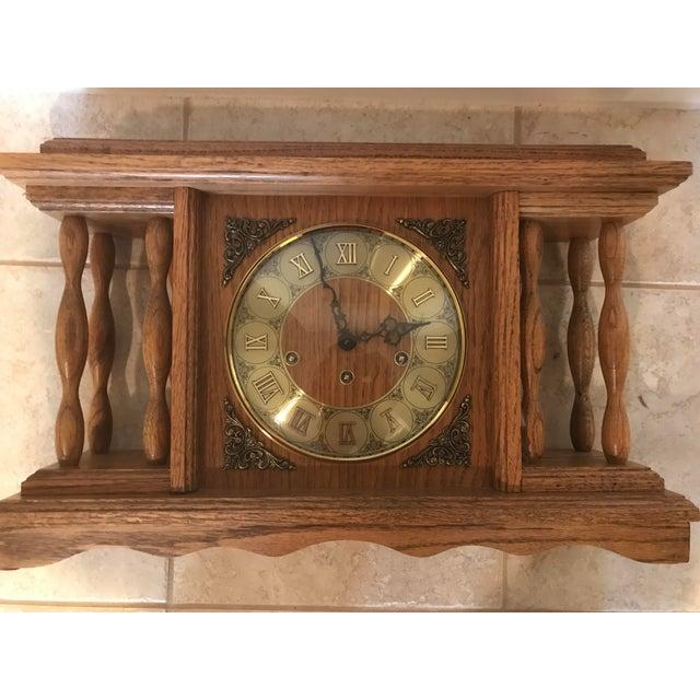 Franz H. Vintage Mantel Clock For Sale - Image 6 of 11