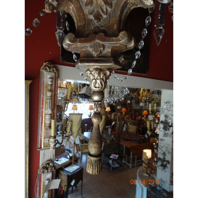 19th Century Italian Crystal Chandelier For Sale - Image 11 of 13
