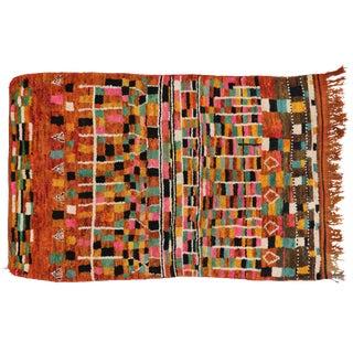 Vintage Berber Moroccan Rug, 5'1 X 8'