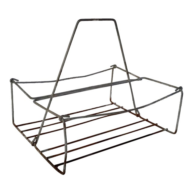 Vintage Metal Wire Caddy - Image 1 of 5