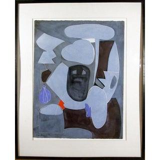 Eduardo Arranz-Bravo, Blue (from the Sweerts Suite), 1990