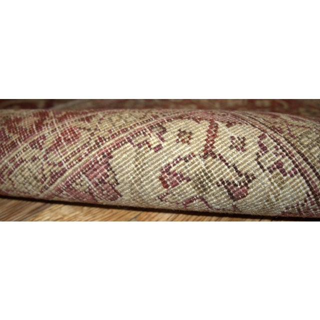 Antique Indian Amritsar Rug - 7′ × 9′8″ - Image 3 of 5