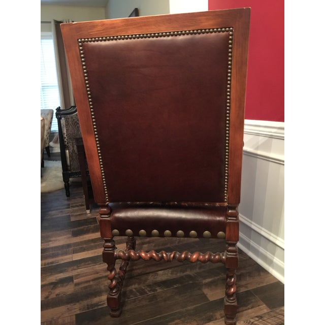 Old Hickory Tannery Dining Chairs - A Pair For Sale - Image 9 of 13