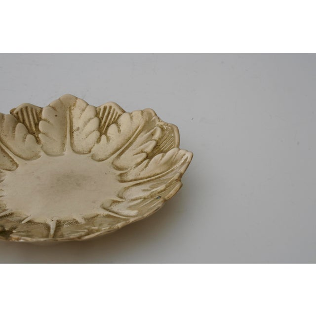 Mid 20th Century Mid-Century Brass Wreath Ring Dish For Sale - Image 5 of 6