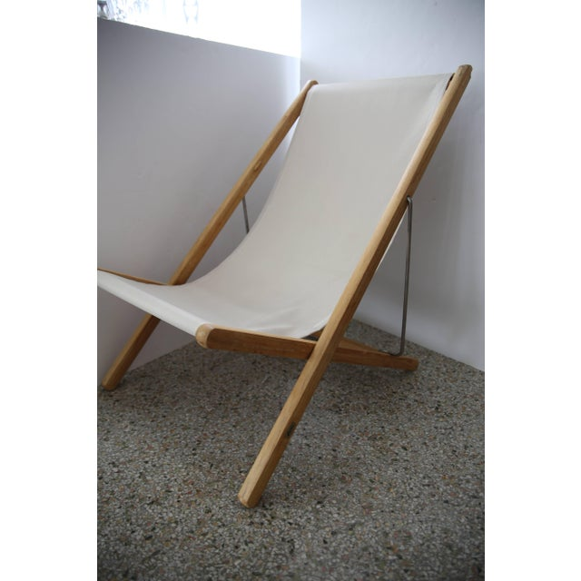 Gloster Modern Adjustable Teak Lounge Chairs - a Pair For Sale - Image 9 of 13