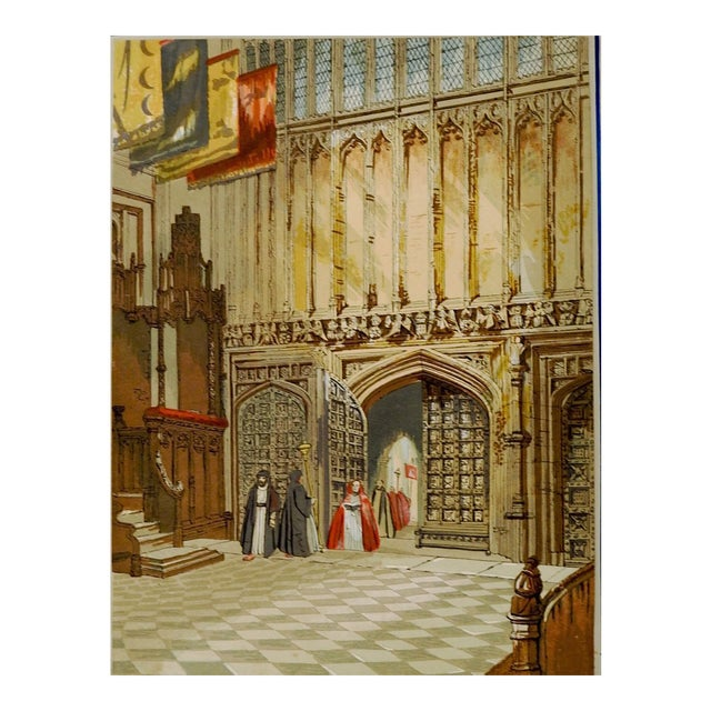 Henry 7th Chapel at Westminster Print For Sale