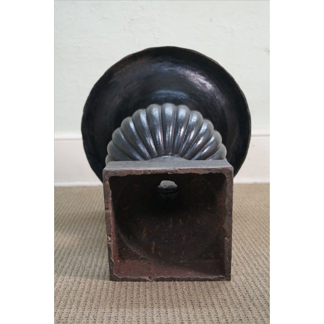 Classic French Style Black Cast Iron Urns (A) - Image 9 of 10