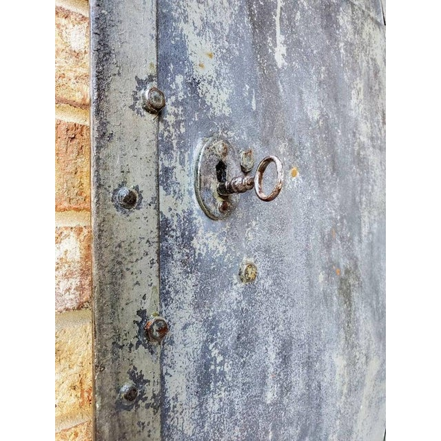 Gray Mid 19th Century Iron Cellar Door For Sale - Image 8 of 11
