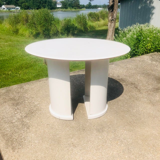 Mid-Century Modern 1970s Space Age Broyhill Chapter One Dining Set - 7 Pieces For Sale - Image 3 of 8