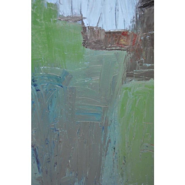 Mid Century Modern Abstract Masterpiece by R. Neeley c.1960 For Sale - Image 5 of 10