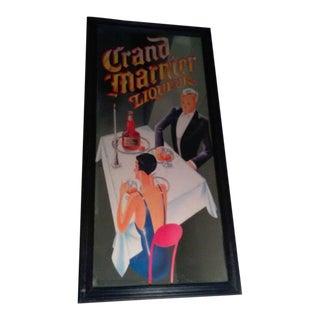Vintage Grand Marnier Mirror Sign