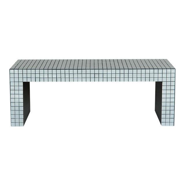 Superstudio Origin Collection 2020 Ashen White Bench For Sale