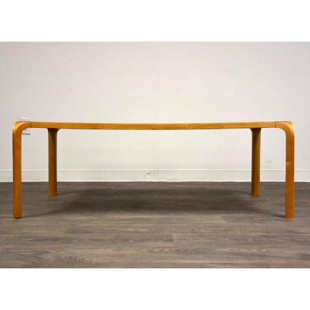 Gold Alvar Aalto Scalloped Coffee Table for Artek For Sale - Image 8 of 11