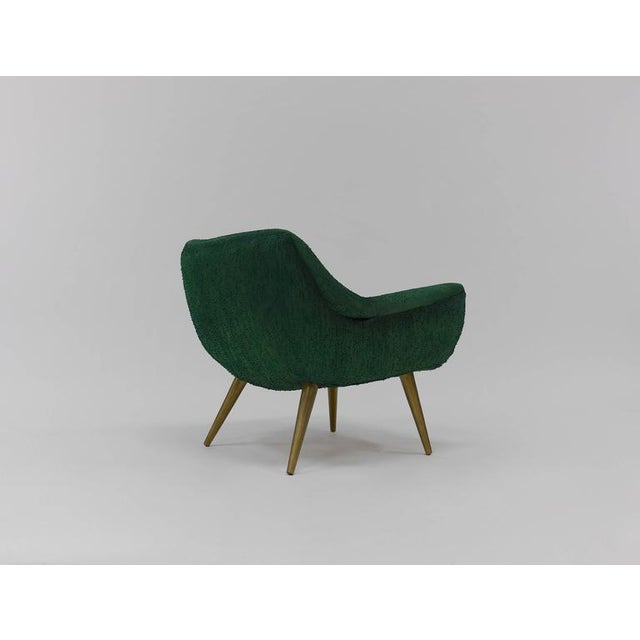 Green Pair of Sculptural Lounge Chairs by Lawrence Peabody for Selig For Sale - Image 8 of 9