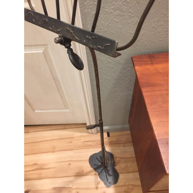 Artisan-Crafted Whimsical Music Stand For Sale - Image 7 of 8