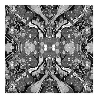 Flicker Wallpaper Remnant by Mitchell Black For Sale