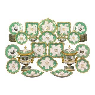 Worcester Porcelain Dessert Service For Sale
