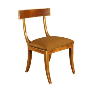 Niermann Weeks Klismos Style Elgin Side Chair For Sale
