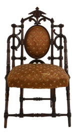 Image of Brown Bergere Chairs