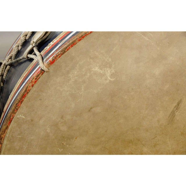 Early 20th Century Antique French Military Tambour or Drum For Sale - Image 5 of 7
