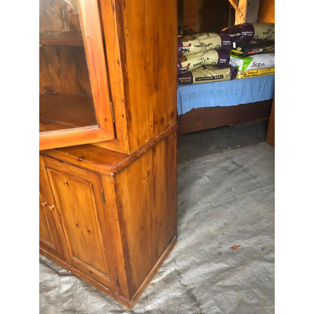 1940s Country Kitchen Cupboard Cabinet With Lots of Storage For Sale - Image 5 of 12
