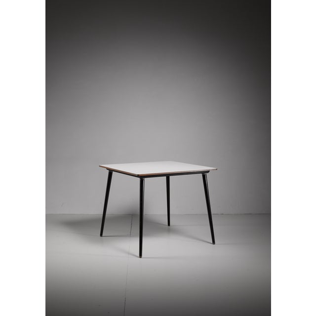 1950s Small dining or kitchen DTW table by Charles Eames for Herman Miller For Sale - Image 5 of 5