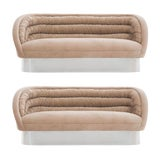 Image of Vladimir Kagan Crescent Sofas For Sale