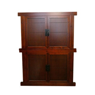 Mizuya Tansu Armoire With Desk For Sale
