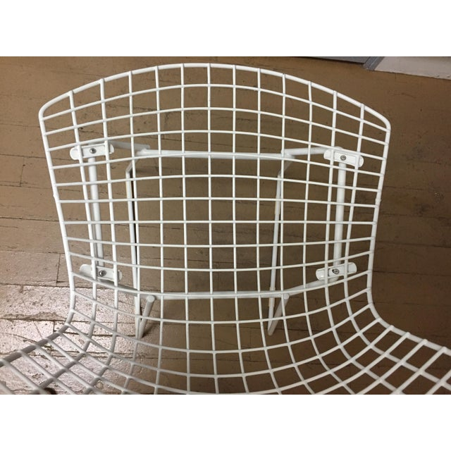 Mid-Century Modern Knoll Dining Chairs - Set of 4 For Sale In Chicago - Image 6 of 9