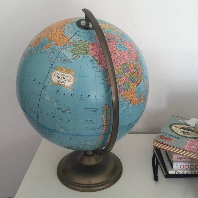 Vintage World Globe - Image 3 of 3