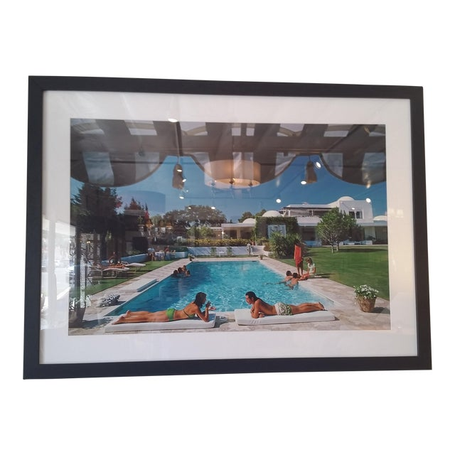 """Poolside in Sotogrande"" Photograph - Image 1 of 4"