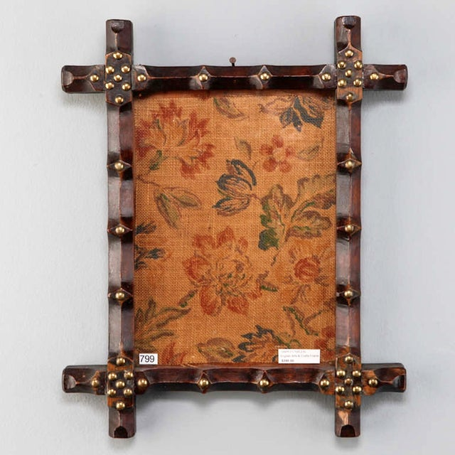 19th Century Small English Arts and Crafts Frame - Image 2 of 5