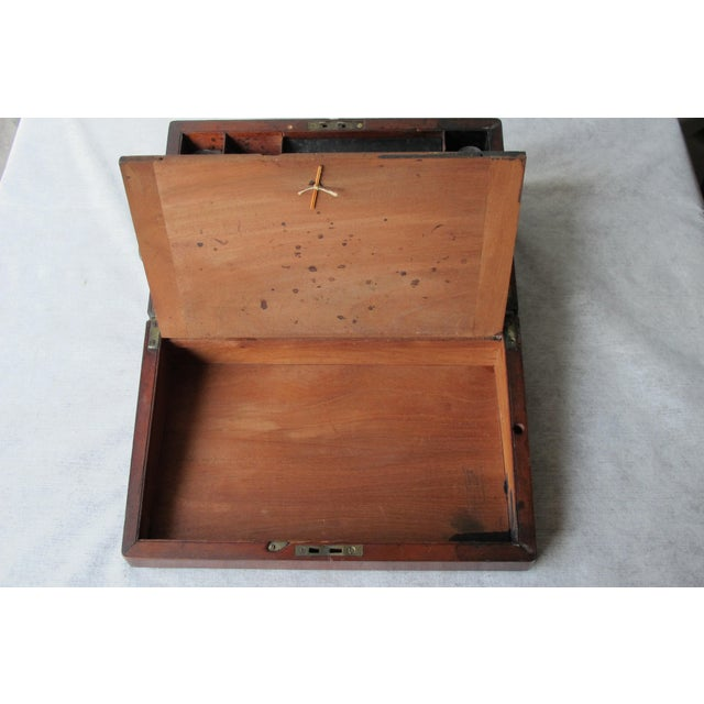 Mahogany Folding Lap Desk - Image 10 of 11