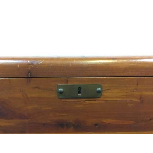Vintage Cedar Lined Storage Chest - Image 5 of 6