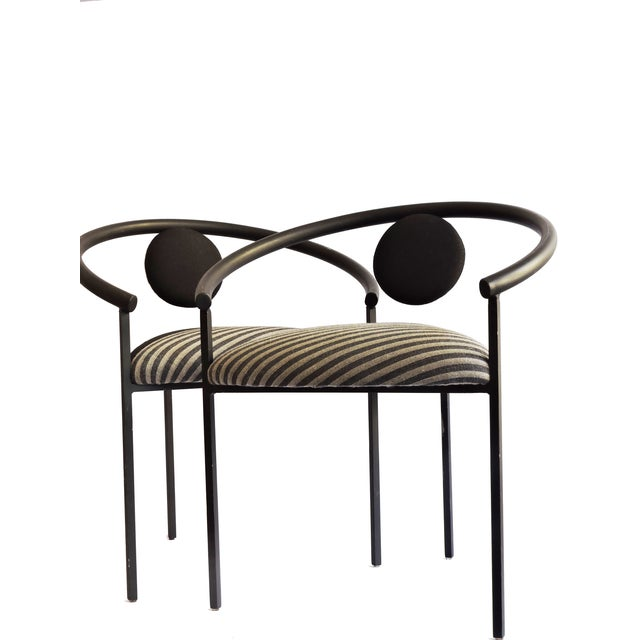 Memphis Design Style Chairs - A Pair - Image 3 of 4
