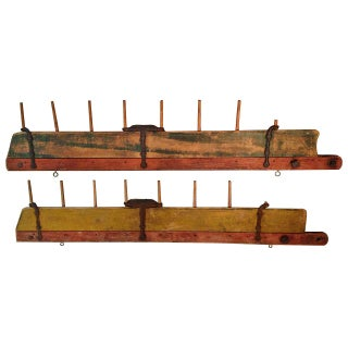 Mid-1800s Primitive Horse-Drawn Farm Field Tillers For Sale