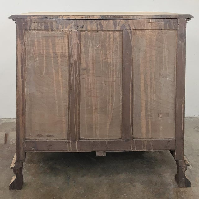 19th Century French Regence Buffet With Faux Drawer Façade For Sale - Image 12 of 13