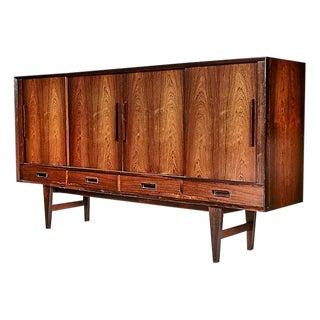 1960s Scandinavian Rosewood Credenza