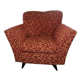 Modern Contemporary Dakota Jackson Cosmoledo Club Chair For Sale