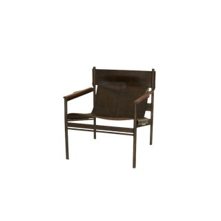 Cisco Brothers Leather Barcelona Chairs - a Pair Preview